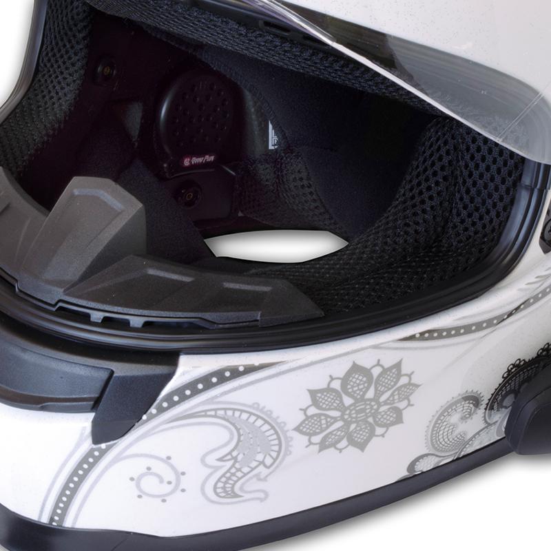 AMP Bluetooth Helmet Audio System - Single Kit - UCLEAR Digital