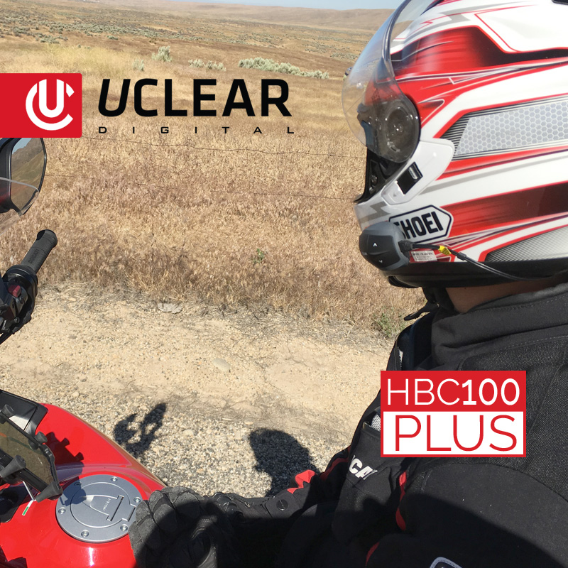 Uclear Hbc100 Motorcycle Communication System
