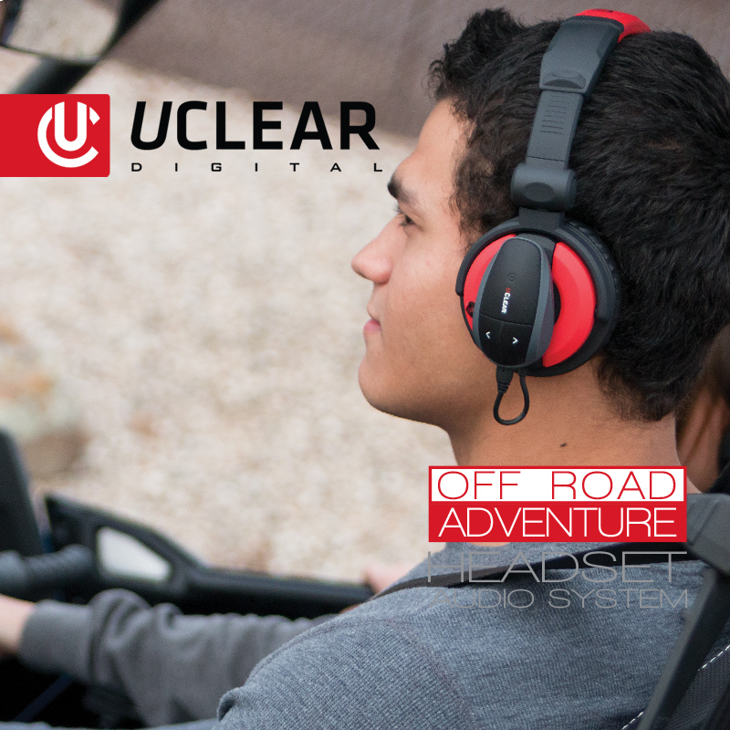 Off Road Adventure Bluetooth Headset Audio System Uclear