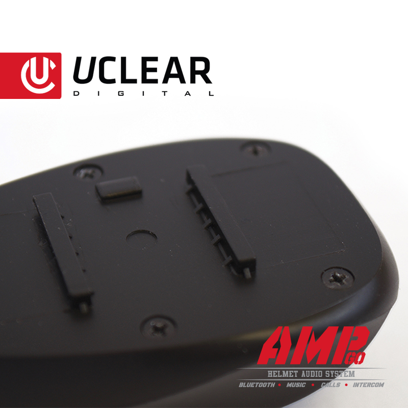 Uclear Digital AMP Go Single Boomless Microphone and Communication System