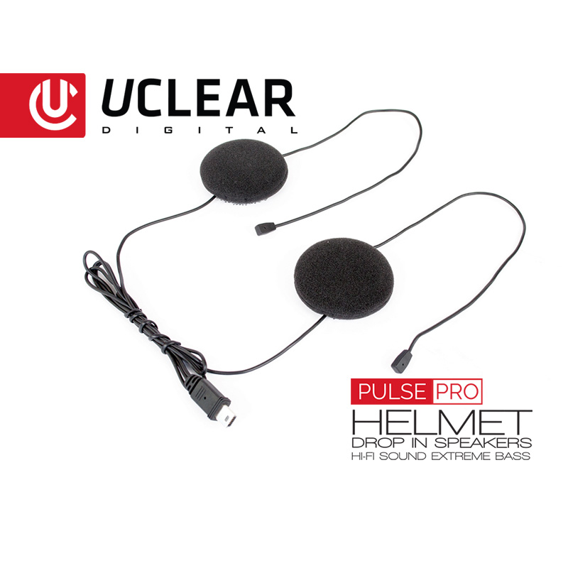 Pulse Pro - Upgraded Helmet Speakers for HBC & AMP UCLEAR Digital Audio  Systems